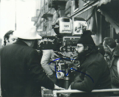 Francis Ford Coppola The Godfather In-Person Hand Signed Autographed Photo