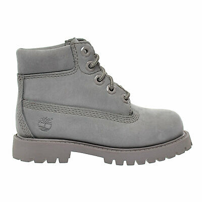 99e9740940 Timberland 6 Inch Premium Waterproof Baby Toddlers Boots Grey Limited  tb0a16zb