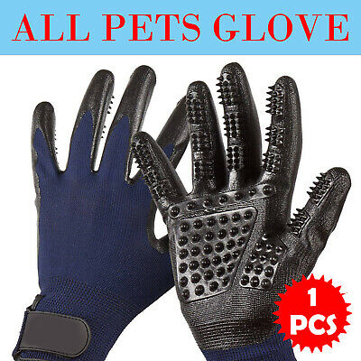 Pet Dog Cat Grooming Cleaning Magic Glove Hair For Dirt Remover Brush Deshedding