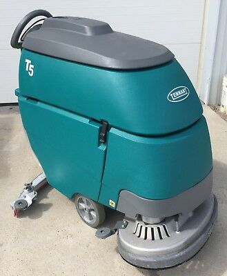 "Tennant T5 28"" Disk Scrubber. Under 1000 hours"