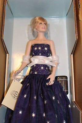 "Franklin Mint  Diana ""Princess Of Enchantment"" Porcelain Portrait Doll."