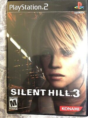 🔥 PS2 SILENT HILL 3 COMPLETE, Very Good, Playstation Konami Free Shipping! 🔥