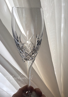Waterford PLAZA LISMORE ESSENCE FLUTES Crystal - Set of 4 - New in Box