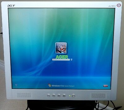 NEW DRIVERS: ACER AL1913 MONITOR