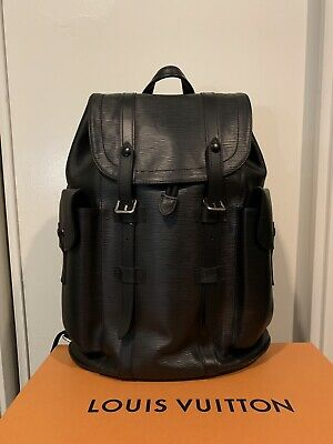 29373ac63518 AUTHENTIC LOUIS VUITTON Christopher Backpack Epi leather -  2