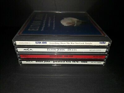 Lot Of 4 Elton John Cd's - A230 - Duets The One Greatest Hits 1976-1986 Etc