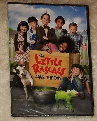 THE LITTLE RASCALS SAVE THE DAY - DVD - Brand new - sealed - 2014
