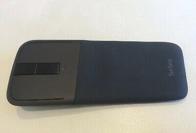 Genuine Microsoft Surface Arc Mouse Bluetooth in black - Used In VGC