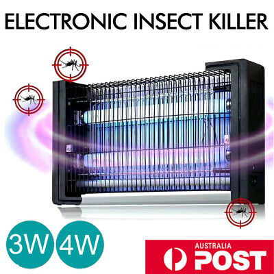 Insect Killer Bug Zapper Fly Trap Trapper Mosquito Pest Catcher Electric UV LED