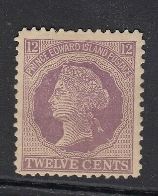 CANADA PRINCE EDWARD IS 1872 SG42 12c reddish-mauve - Mounted mint