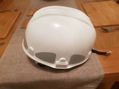Rock Climbing Safety Helmet,Scaffolding Construction Rescue Hard Hat White