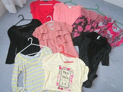 9 Ladies Tops - Size 10 - Great Everyday Wear