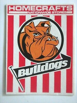 1976 South Fremantle Homecrafts Wafl Club Sticker.