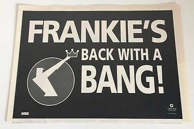 Fgth Back With A Bang! 1993 Dutch Promo Advert Ztt Frankie Goes To Hollywood