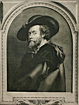 A Fine c19th Engraving, British Museum 1898, Rubens after Rubens