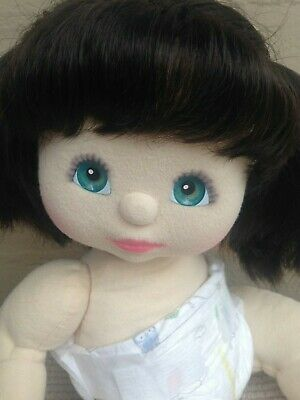 My Child Doll ~ US '88 Brunette Pony Tails ~ Nappy ~ Beautiful