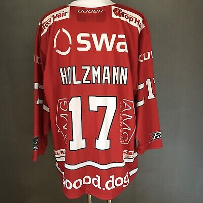 Augsburger Panther DEL 2018/2019 Home Sponsoren Trikot #17 Thomas Holzmann - XXL