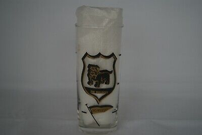 Vintage VFL/AFL Footscray/Western Bulldogs Premiership Glass