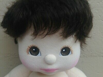 My Child Doll ~ US Brunette Curly Boy ~ Nappy ~ Very Cute!