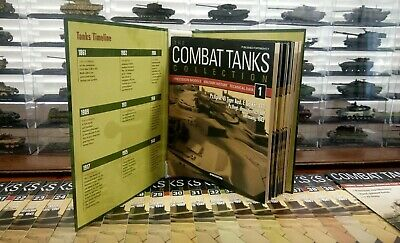 DeAgostini 52 Combat Tanks Collection 1:72+Folder/All 1-52#ISSUES (NEW)
