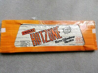 Desmo Hotzone Rear Window Heater NOS Classic car accessory Ford VW Vauxhall Mini