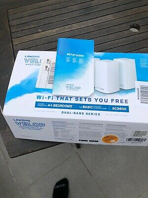 Linksys Velop Modular Dual Band Wi-Fi System AC3600 - 3 Pack
