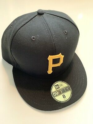 best sneakers 8a06d 8e0cf NEW ERA Pittsburgh Pirates GAME 59Fifty Fitted Hat MLB Cap Size 8 Black Tags