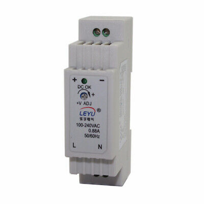 DR-15 12V 24V 15W Multiple Delivery Single Output Industrial Din Rail Switching