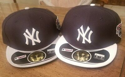 3a195caca7e47 NEW YORK YANKEES MLB 70th Old Timers Day Patch Fitted Flat Bill ...