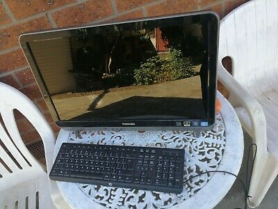 23 inch Toshiba LX830 all in one desktop computer