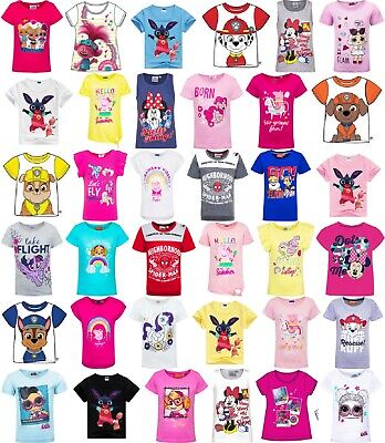 Boys/Girls/Kids Short-Sleeved Character T-Shirts - Sizes 18 Months-10 Yrs NWT