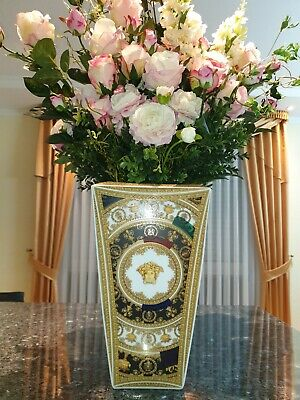 Original Versace Rosenthal Vase Baroque and Roll 32cm mit Authenticity Card