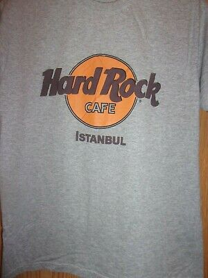 Istanbul Hard Rock Cafe Gray M T Shirt