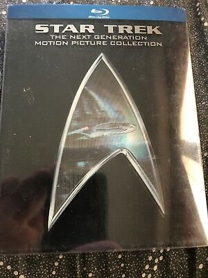 Star Trek TNG Blu-ray Movie Collection used