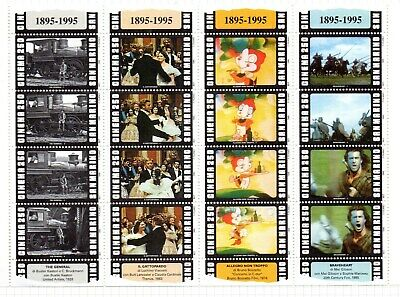 Famous Tv & Cinema Stars 67 Page Album Of Mint Mini Sheets & Stamps
