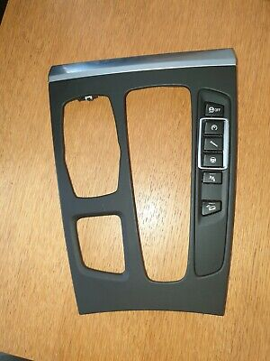 BMW  GENUINE X5m X6m F15 F16 CENTER CONSOLE TRIM COVER BLACK RHD WITH SWITCH