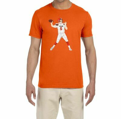 f2428a68d New Cleveland Browns Baker Mayfield Throwing Usa Size S To 3Xl T-Shirt En1