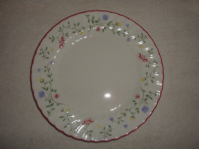 """Johnson Brothers China ~ Summer Chintz ~ Dinner Plates 10.5"""" ~ 2 Available"""