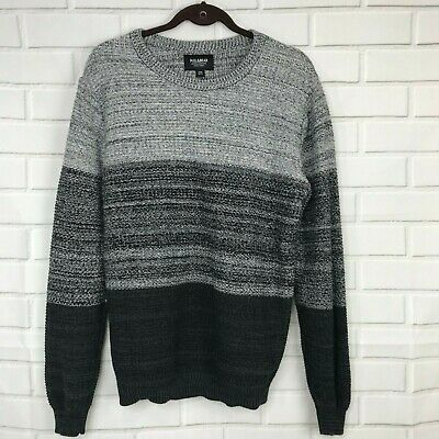on sale casual shoes website for discount NEW PULL & Bear Sweater Crew Neck Pullover Knitwear Gray ...