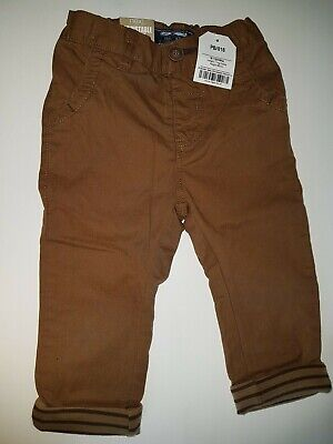 BNWT Baby boys brown NEXT trousers age 9-12months