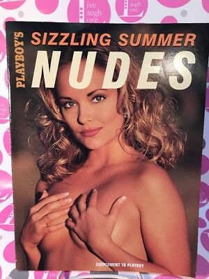 "PLAYBOY'S SUPPLEMENT ""Sizzling Summer NUDES"" 2003 COVER: ECHO JOHNSON~LN N.MINT!"