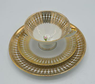 Winterling Risiou Bavaria 3 Piece Luncheon Set - Cup Saucer Underplate