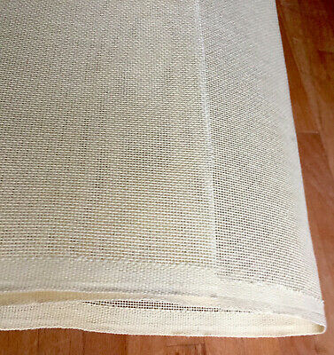 """Tapestry Needlepoint Canvas 18 Holes Per Inch parchment yellow sheet 26""""x42"""""""