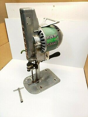 """Wolf Pacer Series III 7"""" Blade Straight Knife Fabric Cutter Cutting Machine 220v"""