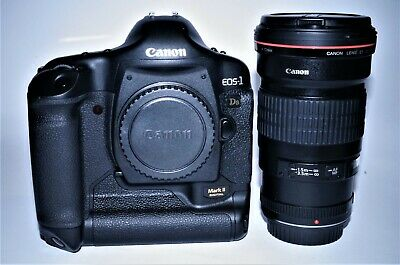 Canon EOS 1DS MKII including Canon EF 200mm f/2.8 L II USM