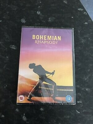 bohemian rhapsody 2018 DVD Brand New And Sealed