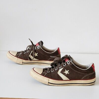 Converse All Stars Star Player brown suede Unisex UK size 6