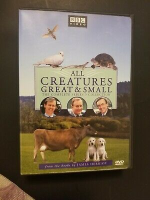All Creatures Great & Small UK TV Series 3 Region 1( 4 DVD Set)