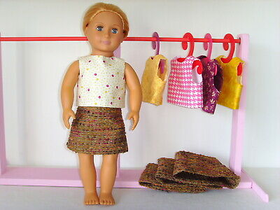 """Tweed Skirt & Top ~ Clothes for Our Generation/American Girl 18"""" Dolls"""