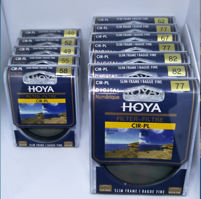 Hoya 49_82mm Circular Polarizing CIR-PL CPL FILTER for Canon Sony Nikon Lenses